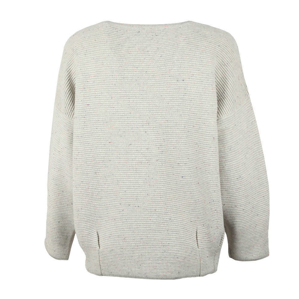 Ottoman Mozart Speckle Ribbed Jumper main image