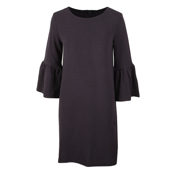 French Connection Womens Blue Paros Sudan Flare Sleeve Dress main image
