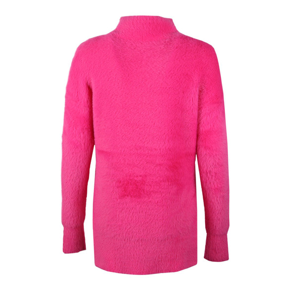 French Connection Womens Pink Edith Fluffy Jumper main image