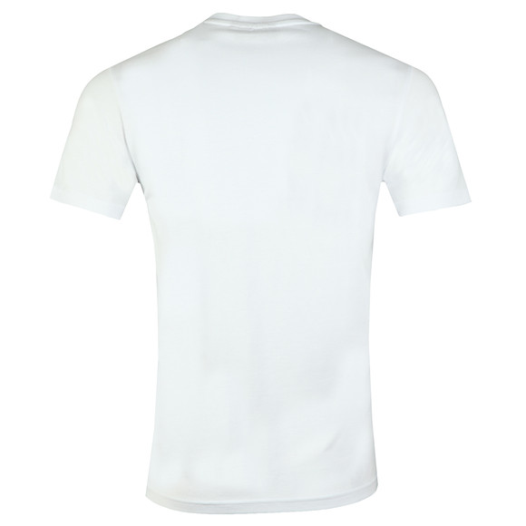 Millionaire Homme Mens White Patchwork Tee main image
