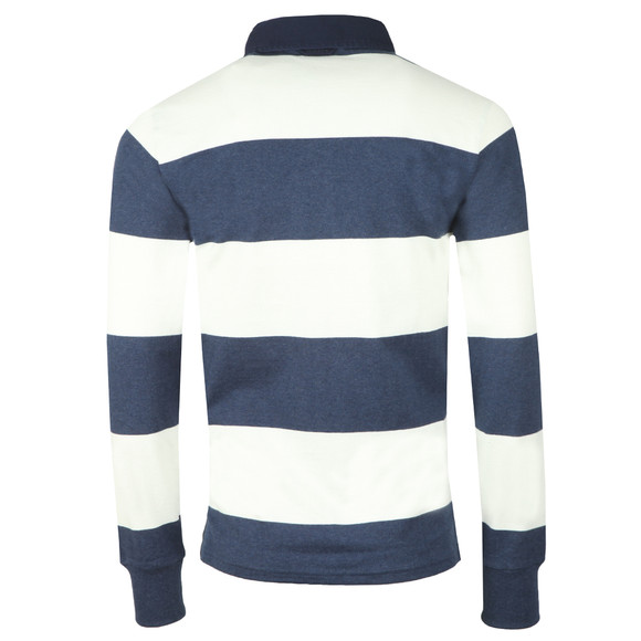 Gant Mens Off-White Barstripe Heavy Rugger main image