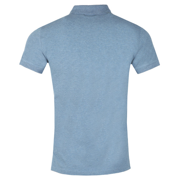 Gant Mens Blue Contrast Collar Polo main image