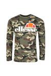 Ellesse Mens Green Grazie L/S T-Shirt