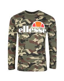 Ellesse Mens Grey Grazie L/S T-Shirt