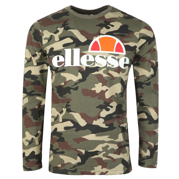 Ellesse Mens Green Grazie L/S T-Shirt main image
