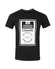Weekend Offender Mens Black Gib Nights Zu T Shirt