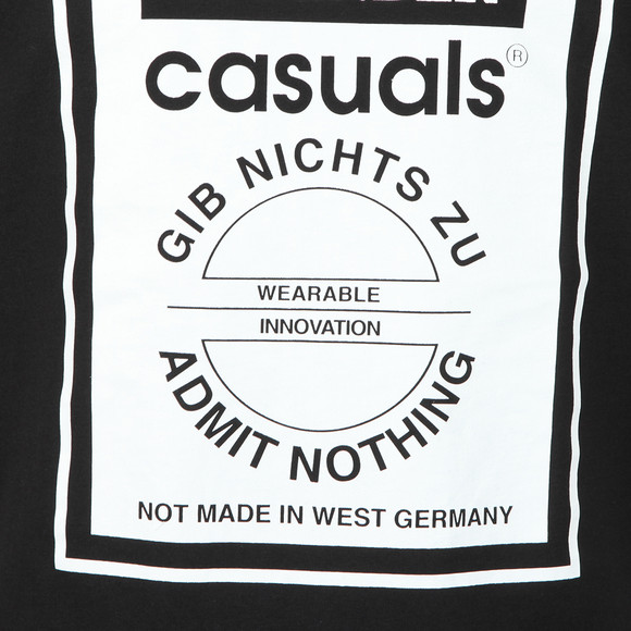 Weekend Offender Mens Black Gib Nights Zu T Shirt main image
