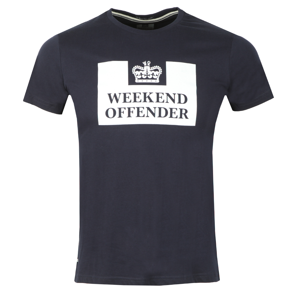 Weekend Offender Prison T Shirt main image
