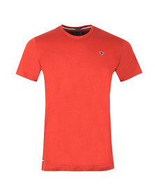 Weekend Offender Mens Orange Ortiz T Shirt