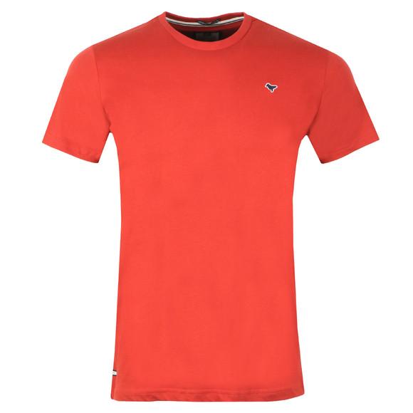 Weekend Offender Mens Orange Ortiz T Shirt main image