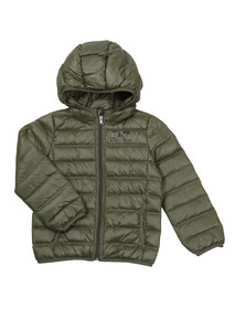 EA7 Emporio Armani Boys Green Down Puffer Jacket