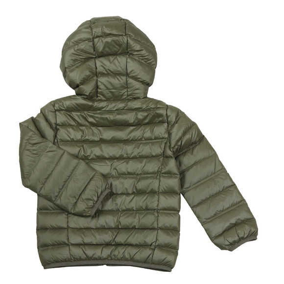 EA7 Emporio Armani Boys Green Down Puffer Jacket main image