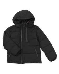 Kenzo Kids Boys Black Boys Down Jacket