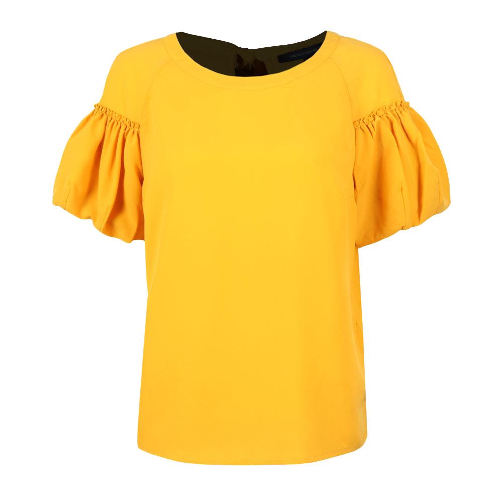 Crepe Light Puff Sleeve T-Shirt main image