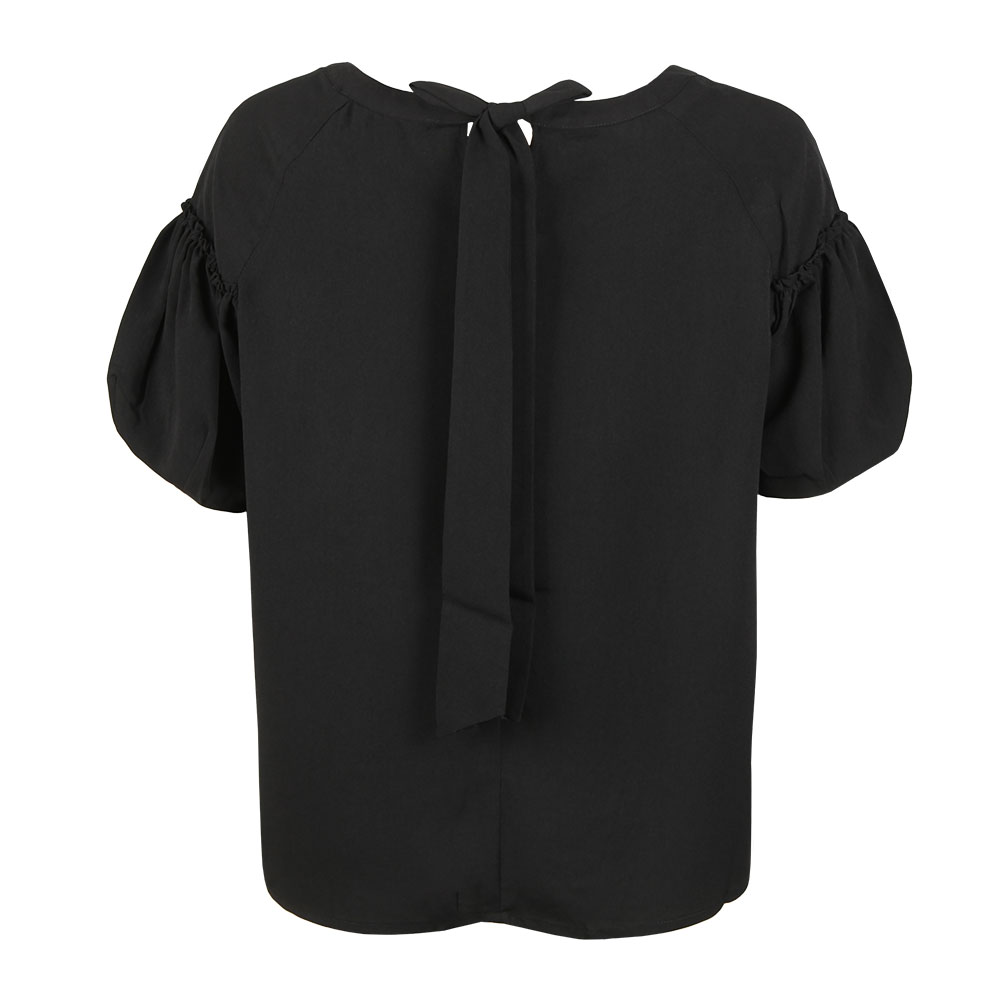 Crepe Light Puff Sleeve T-Shirt main image