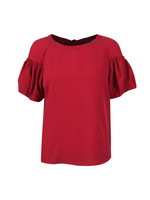 Crepe Light Puff Sleeve T-Shirt