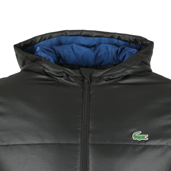 Lacoste Sport Mens Black BH9520 Puffer Jacket main image