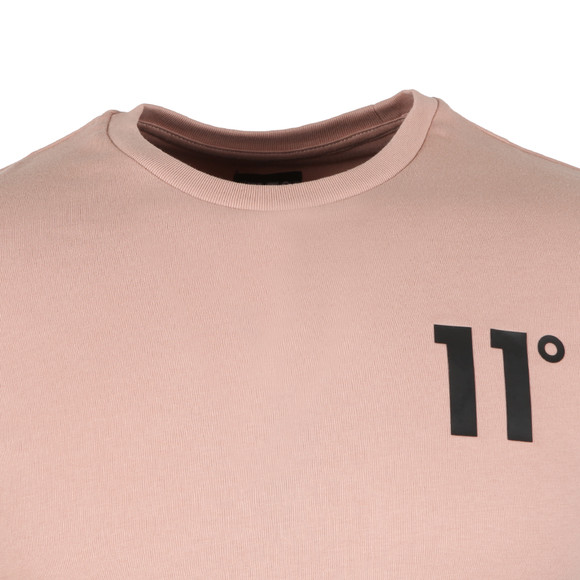 Eleven Degrees Mens Pink Core Tee main image