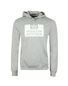 Weekend Offender Mens Grey HM Service Classic Hoody
