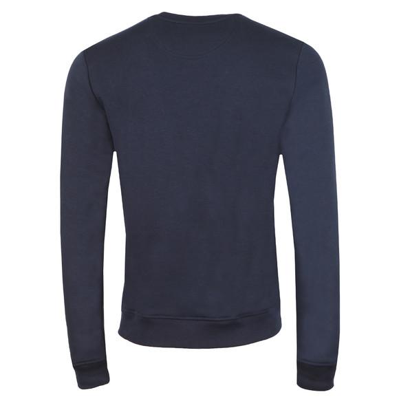 Lacoste Mens Blue SH0605 Print Sweatshirt main image