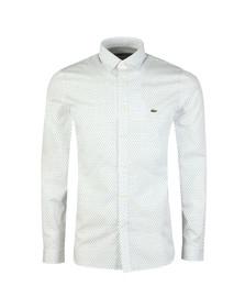 Lacoste Mens White L/S CH0488 Shirt