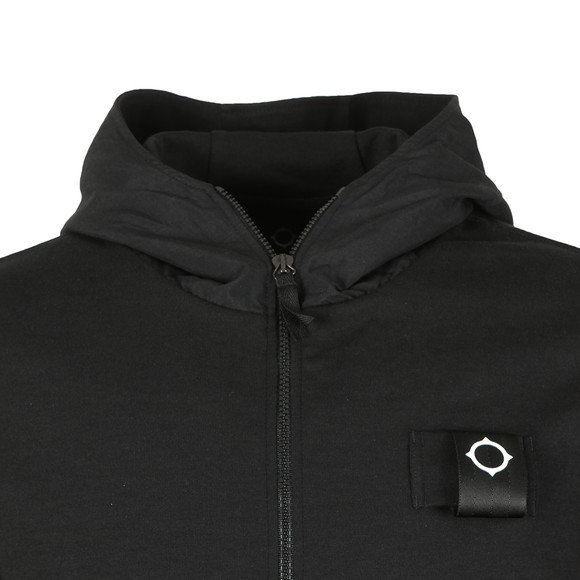 Ma.Strum Mens Black Hood Sweat  main image