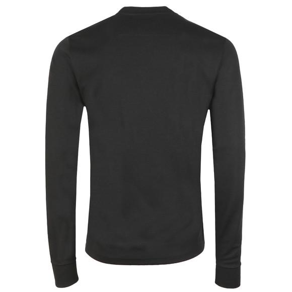 Ma.Strum Mens Black Box Logo Crew Sweatshirt main image