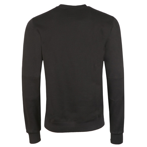 Ma.Strum Mens Black Training Crew Sweat main image