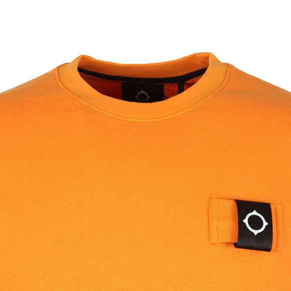 Ma.Strum Mens Orange Training Crew Sweat main image