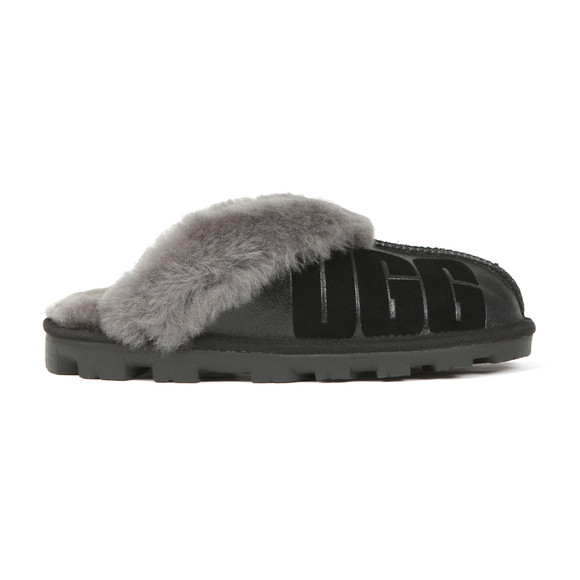 Ugg Womens Black Coquette Sparkle Slipper main image