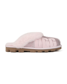 Ugg Womens Pink Coquette Sparkle Slipper