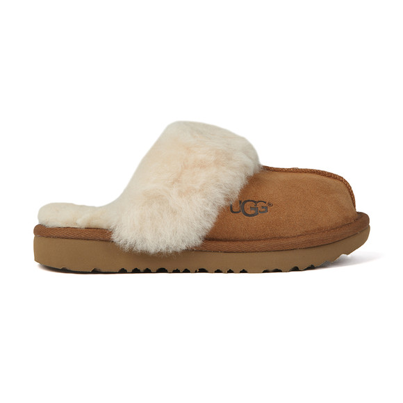 Ugg Boys Brown Kids Cozy Slipper main image