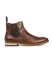 Superdry Mens Brown Premium Meteora Chelsea Boot