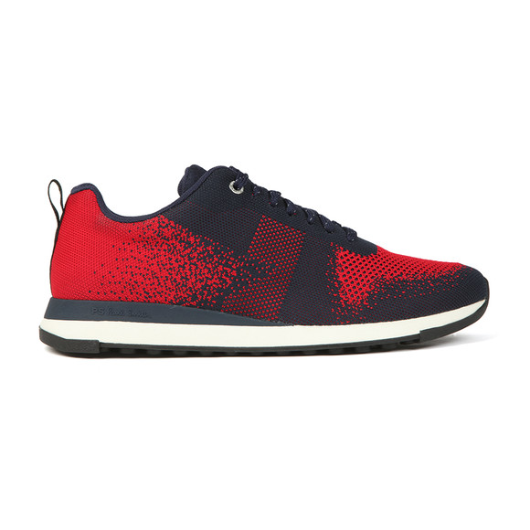 PS Paul Smith Mens Blue Rappid Knitted Trainer