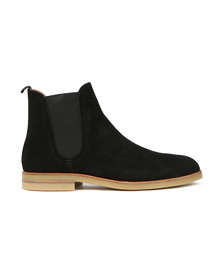 H By Hudson Mens Black Adlington Suede Boot