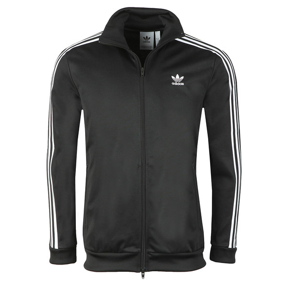adidas Originals Mens Black Beckenbauer Track Jacket main image