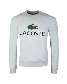 Lacoste Mens Grey SH0605 Print Sweatshirt