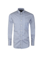 Shark Logo Micro Check Shirt