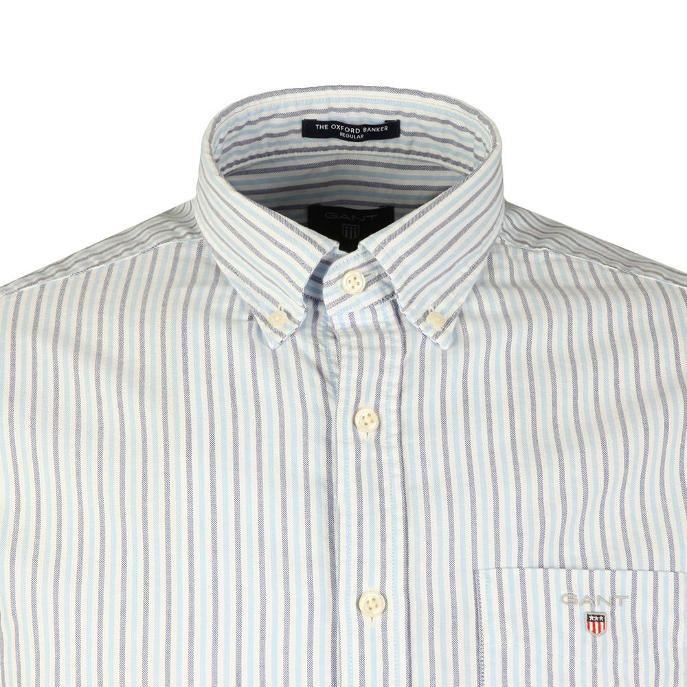 L/S Oxford Banker Stripe Shirt main image