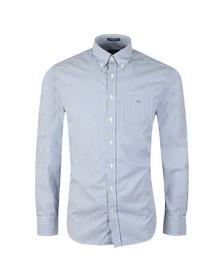 Gant Mens Blue L/S Broadcloth Banker Shirt