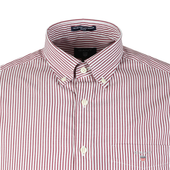 Gant Mens Red L/S Broadcloth Banker Shirt main image