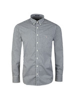 L/S Broadcloth Gingham Shirt