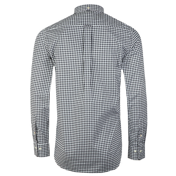 Gant Mens Blue Broadcloth Gingham Shirt main image