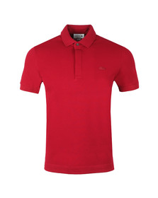 Lacoste Mens Red PH5522 Paris SS Polo