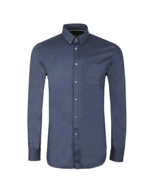 Lacoste Mens Blue L/S CH9623 Plain Shirt