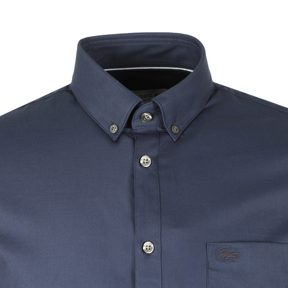Lacoste Mens Blue CH9623 Plain Shirt