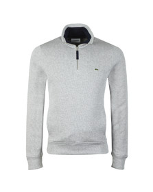 Lacoste Mens Grey SH9252 Half Zip Sweat