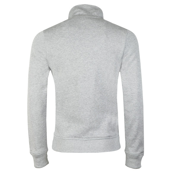 Lacoste Mens Grey SH9252 Half Zip Sweat main image