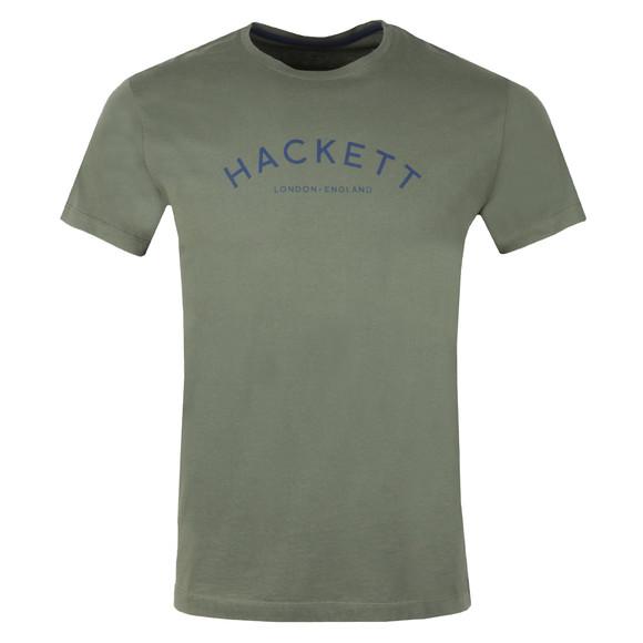 Hackett Mens Green S/S MR Classic Tee main image