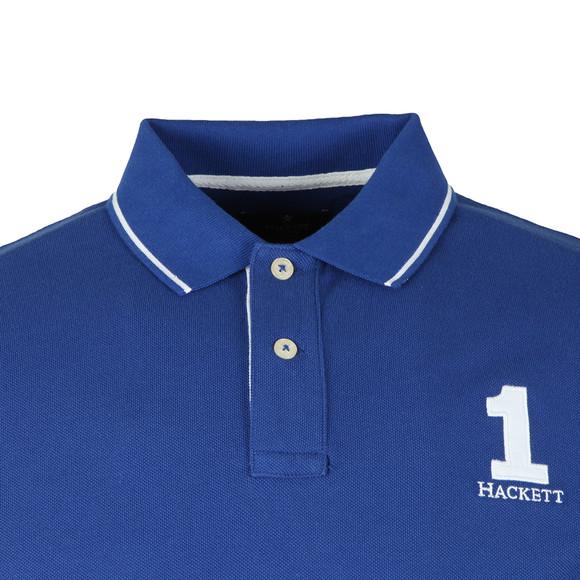 Hackett Mens Blue S/S Classic Polo main image